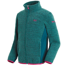 Regatta Ascendo Fleece Jacket Kids Cermic/Moroccan Blue
